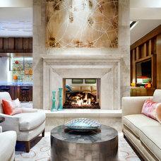 Contemporary Living Room by JAUREGUI Architecture Interiors Construction