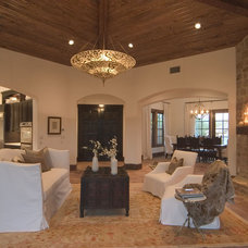Mediterranean Living Room by Eppright Custom Homes
