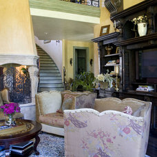 Mediterranean Living Room by Letitia Holloway