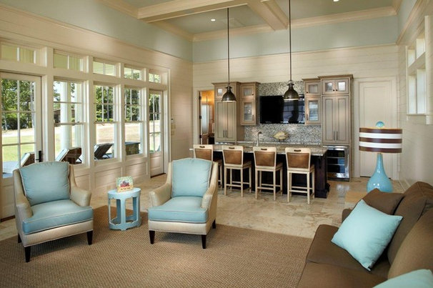 Contemporary Living Room by Catalyst Architects, LLC