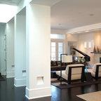Tribeca Loft Living Room Contemporary Living Room