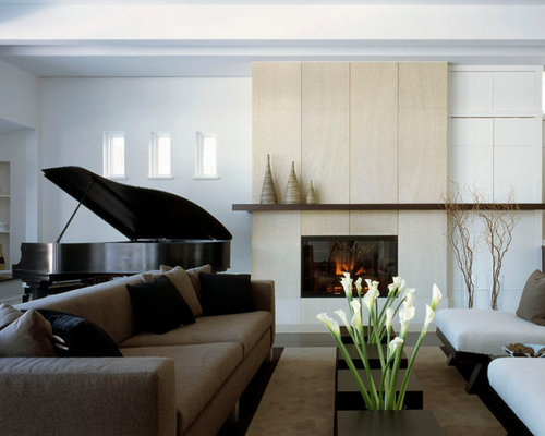 SaveEmail - Limestone Fireplace Surround Ideas, Pictures, Remodel And Decor