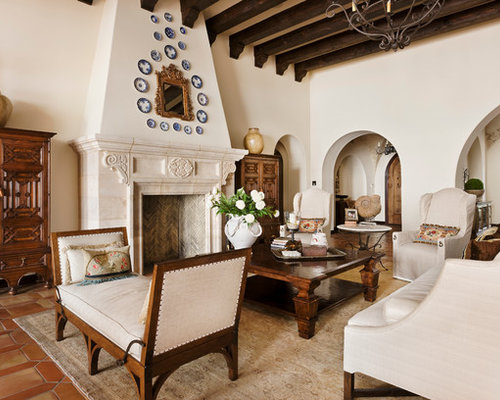 Spanish living room ideas pictures remodel and decor - Spanish decorating ideas living rooms ...