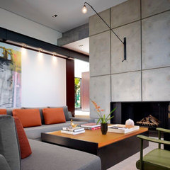 modern living room by Jessica Lagrange