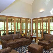 Contemporary Living Room by Knight Associates