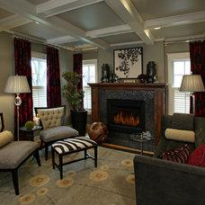 Contemporary Living Room by Kamarron Design, Inc.