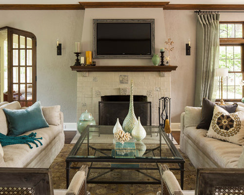 Best tudor fireplace design ideas remodel pictures houzz for Tudor style fireplace