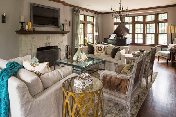 Traditional living room by renae keller interior design inc for Perfect interior designs inc