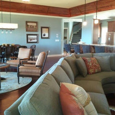 Traditional Living Room by Laura Gills: An Interior Design Company