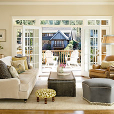 Traditional Living Room by Taryn Emerson Interiors