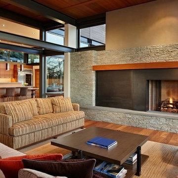 Lake House Two - Living Room