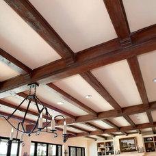Traditional Living Room by Durrett Homes