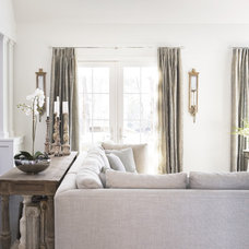 Living Room by Linda McDougald Design | Postcard from Paris Home