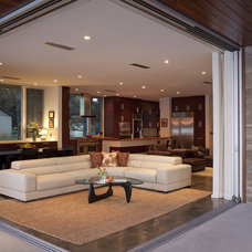 Contemporary Living Room by Dick Clark + Associates