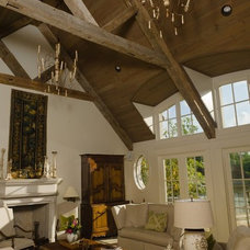 Traditional Living Room by Christopher Architects and Interiors