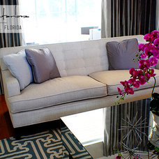 Contemporary Living Room by A.Clore Interiors