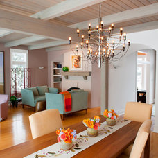 Contemporary Living Room by Elizabeth Drake of Drake Interiors Limited