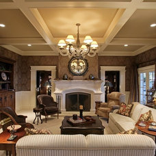 Traditional Living Room by Laurie Kertis, Ltd., Interior Design