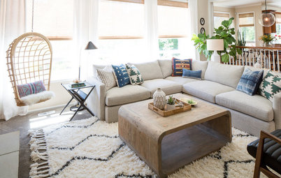 Room of the Day: Soothing Comfort in a Lakeside Living Room