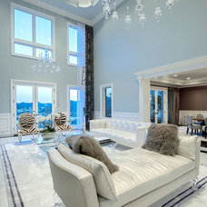 Contemporary Living Room by Shelley Starr Design