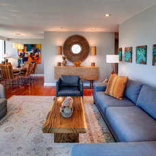 Contemporary Living Room by CK Valenti Designs