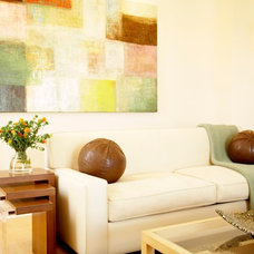 Contemporary Living Room by Lori Dennis, ASID, LEED AP