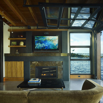 Lake Union Float Home, Seattle WA