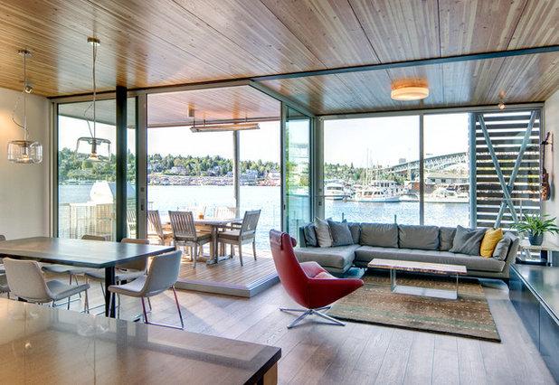 Construire une maison flottante au canada john et for Construire une maison flottante