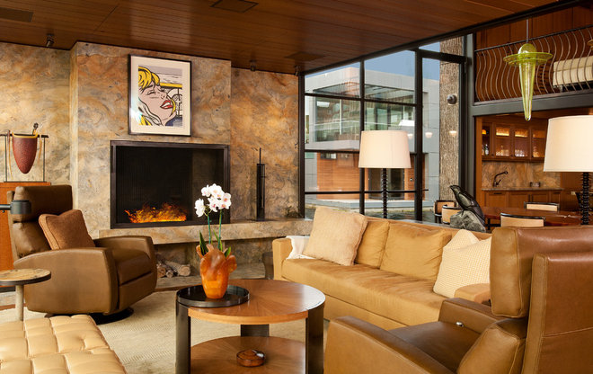 Contemporary Living Room by G Little Construction
