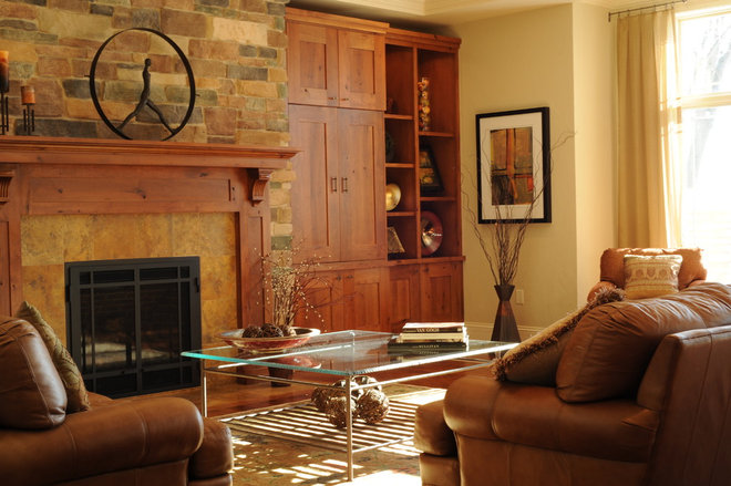 Traditional Living Room by Ware Design LLC