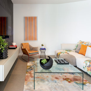 75 Beautiful Contemporary Living Space Pictures & Ideas | Houzz