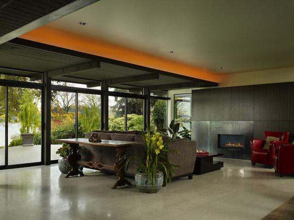 Modern Living Room by BAAN design