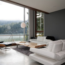 Contemporary Living Room by Creative Construction Management/Jeff Hill