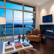 Modern Living Room by Chris Pardo Design - Elemental Architecture