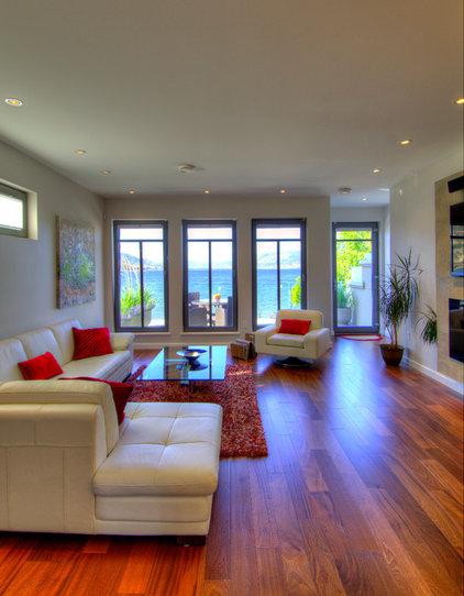 Modern Living Room by Giroux Design Group