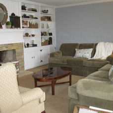Traditional Living Room Lakeshore Remodel: Living Room