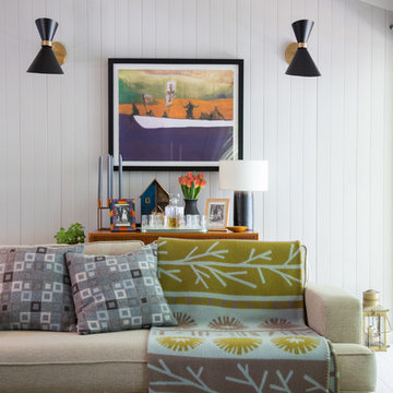 Lakeside Cabin - Photographs from Image Interiors & Living Magazine