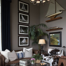 Eclectic Living Room by KSID Studio, LLC