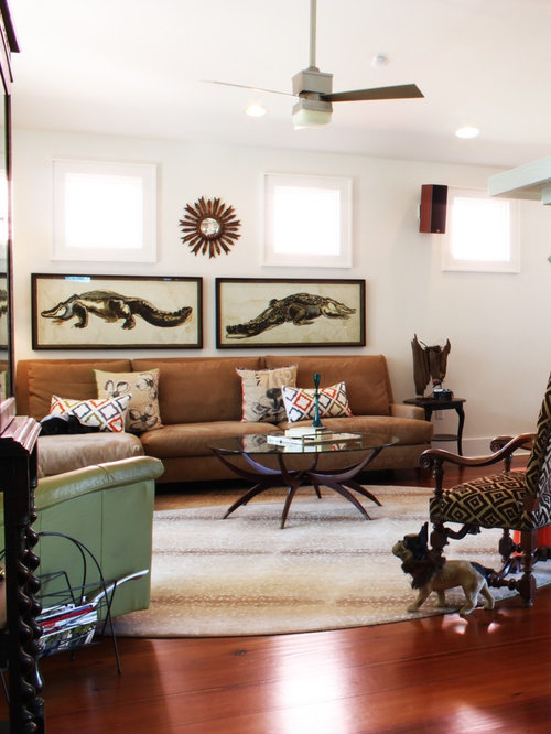 Eclectic New Orleans Living Room Design Ideas Remodels Photos Houzz