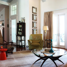 Eclectic Living Room by Adam Breaux