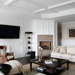 traditional family room by Staples Design Group