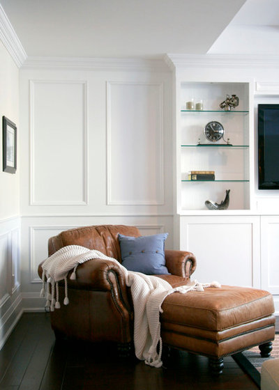 Traditional Living Room by Catherine Staples Interiors