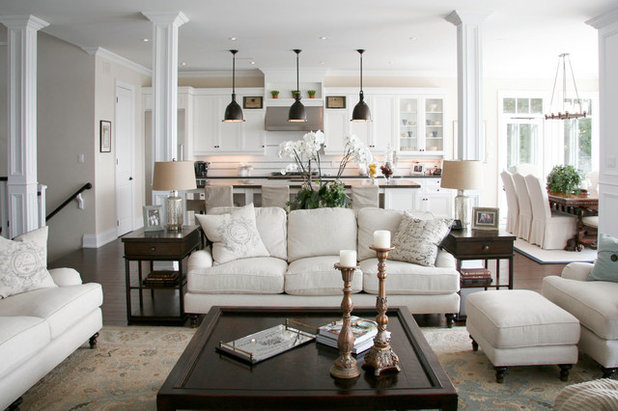 Traditional Living Room by Aspen & Ivy