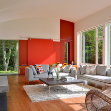 Contemporary Living Room by Demetriades + Walker