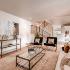 Rustic chic eclectic living room calgary by for Living room 75020