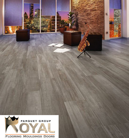 Gray laminate flooring home design ideas pictures for Reclaimed hardwood flooring los angeles