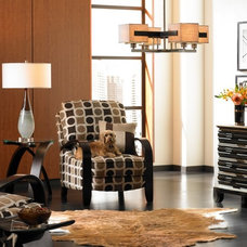 Contemporary Living Room by Lamps Plus