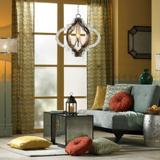 Mediterranean Living Room by Lamps Plus