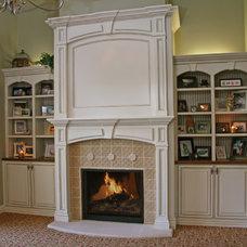 Living Room by Landmark Builders