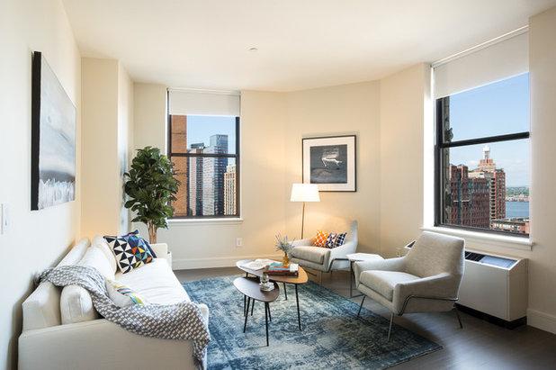Contemporary Living Room by B Interior